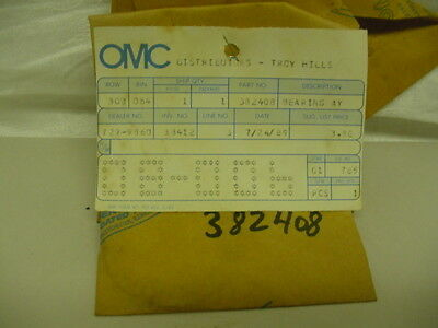 New NOS OMC Thrust Bearing Assy 382408       C23/C32