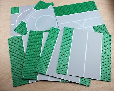 Lego Road Base Plate Boards x 7