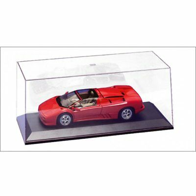 Autoart Display Case 90003 Clear Acrylic Cover & Black Plastic Base 1:18
