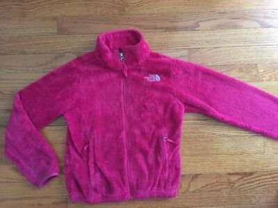 The North Face Size 7 8 Youth Girls Fleece Jacket Coat S Small