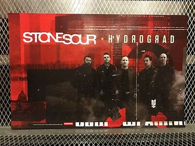 STONE SOUR ~ RARE ~ NEW ~ 2017 HYDROGRAD ~ Corey Taylor  2 Sided POSTER