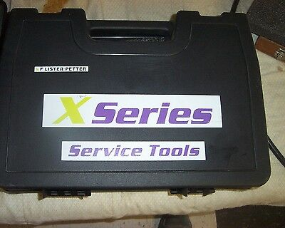 Lister Petter Dealer  Specialty Service Tool Set X Series Engines
