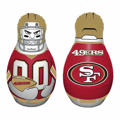 "NFL ""Tackle Buddy"" San Francisco 49ers, Inflatable Punching Bag, 40"""