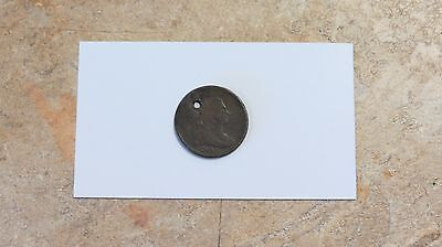 NICE!! 1806 Draped Bust Early Date Half Cent!! Small 6 - Stemless