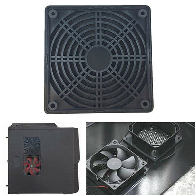 120mm PC Computer Cooling Fan Dustproof Cover Dust Case Mesh Filter Grill Guard