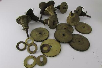 FUSEE CLOCK CONE PARTS from dial or bracket clocks