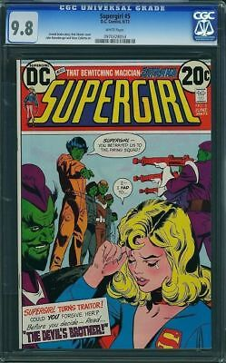 Supergirl #5 (DC, 1973) CGC NM/MT 9.8 WHITE pages