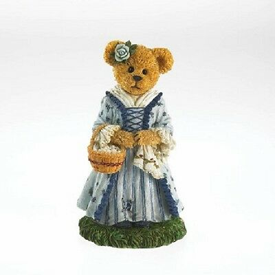 Boyds Bears Bearstone Caroline....Keeping Traditions, 4035136, MIB, Williamsburg