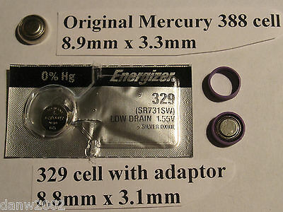 388 battery replacement kit,reuseable,accutron 2210,piaget polo,omega1330,1340