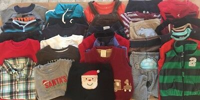 EUC Adorable Baby Boys Fall/Winter CLOTHES LOT Outfit Sets 6-9 Months Lot # 11