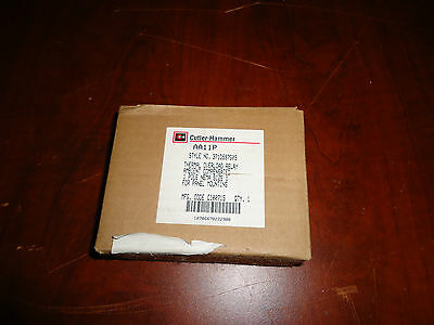 Cutler Hammer Thermal Overload Relay 1Pole 1Panel Mount  Cat# Aa11P, New