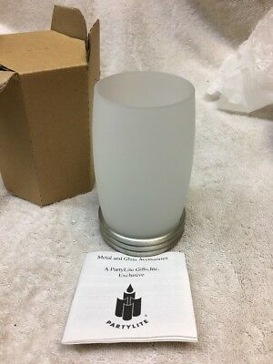 NEW RETIRED PARTYLITE Paragon Tealight Candle Holder-P7202 In Box-Never Used