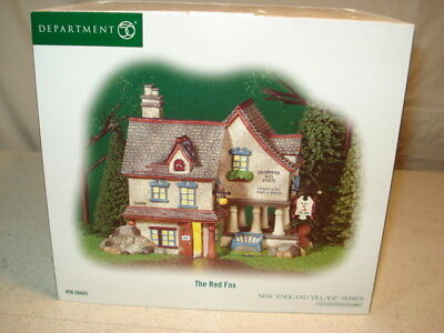 Dept 56 New England Village Series The Red Fox #56.56665