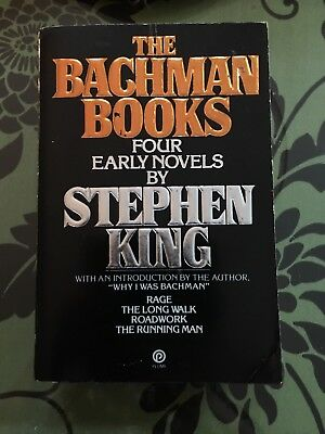 The Bachman Books, Four Early Novels by Stephen King, PB, 1st Plume Printing