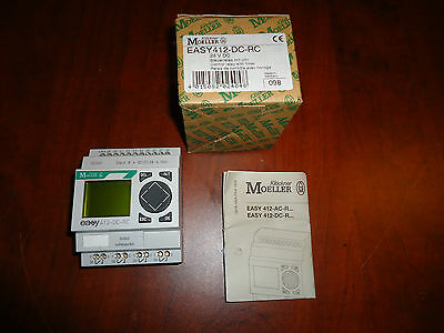 Moeller Control Relay Easy 412-Dc-Rc Cat #easy412-Dc-Rc New In Box