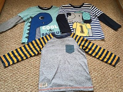 Boys Long Sleeved Tops 2-3 Years