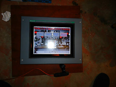 """Moeller,Operator Touch Panel 15.5"""" Color Display, Model# Mv4-590-Ta2-100,#Ae"""