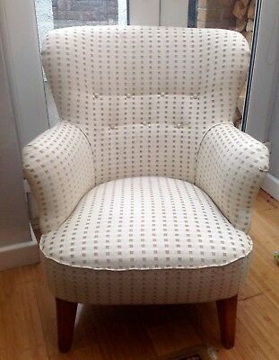 Stunning Vintage French  ( Newly Upholstered) Fully Sprung Arm Chair
