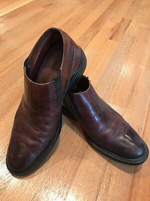 Johnston And Murphy Men's Brown Shoes Leather Size 9 SUMMER BLOW OUT SALE!