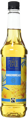 Tate and Lyle Sugars Fairtrade Gingerbread Coffee Syrup 750 ml Brand New