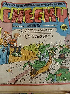 Cheeky Weekly 15Th September 1979