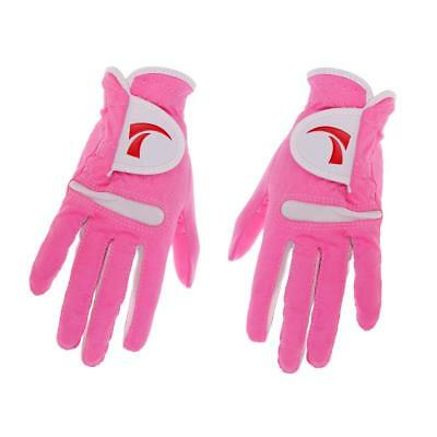 Women's Golf Glove M One Pair,Anti-Slip and Breathable,Soft and Comfortable