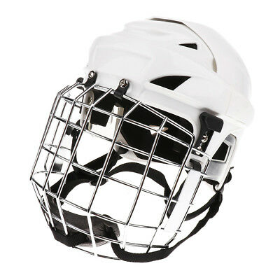 Adult Ice Hockey Helmet with Face Shield - Adjustable and Breathable