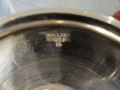 """4 Sterling Silver Wallace Goblets Monogram """"C"""""""