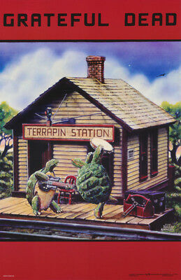 LOT OF 2 POSTERS: GRATEFUL DEAD - TERRAPIN STATION -FREE SHIP  #3555    RC16 i