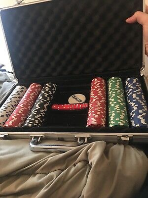 Spotlight29 300 Piece Poker Chip Set Gambling. No cards included