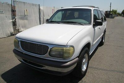 1996 Ford Other  White XLT Automatic Sport Utility 4-Door 1996 Ford Explorer AWD V8