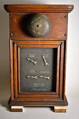 antique Annunciator butlers pantry Fiske & Co. Natick Ma. elec-mech. alarm bell