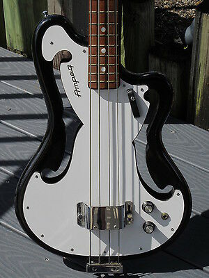1966 AMPEG AEB-1 Bass early production & factory Black finish...Museum Quality.