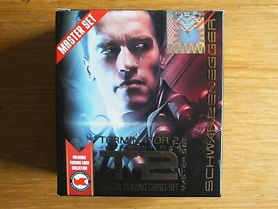 Terminator 2 25 Years On Sealed Gold Trading Card Master Box Plus Dealer Promos