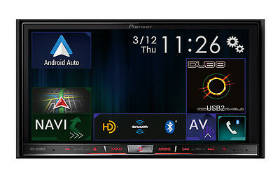 Pioneer AVIC-8200NEX 2 DIN DVD/CD Player GPS Bluetooth HD Radio + ND-BC8 Camera