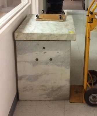 "Used Marble Anti-Vibration Isolation Table L35"" x W24"" x H31""  $450 (slabs 3 in)"
