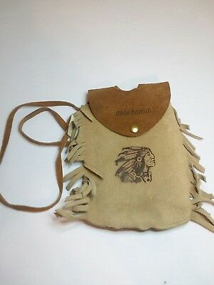 Vintage Bloom Brothers Oklahoma Leather Purse