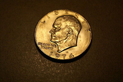 1974-D Eisenhower Dollar Clad Circulated