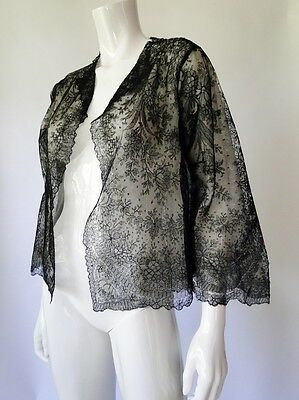 Antique Lace- Lovely Ladies Chantilly Lace Jacket