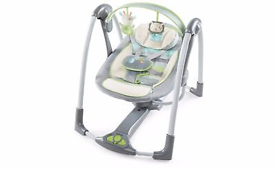 Graco Slim Spaces Compact Baby Swing Lionel Fashion