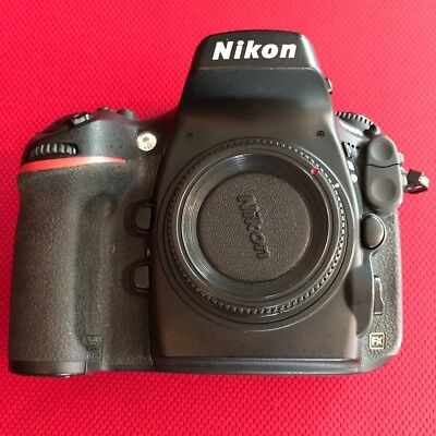Nikon D D800 36.3MP Digital SLR Camera -  USA (Body Only) 9600 actuation extras!