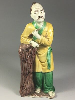 Antique Chinese Porcelain Figurine Statue Repaired
