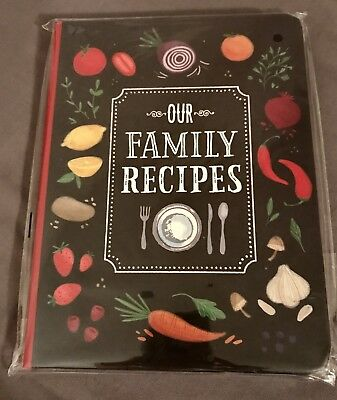 Our Family Recipes (English) Hardcover Book New By Peter Pauper Press