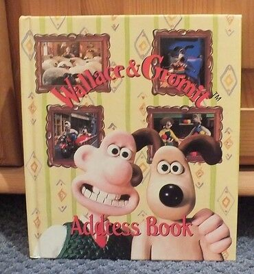 "Wallace and Gromit Address Book - New - 7"" x 8"""
