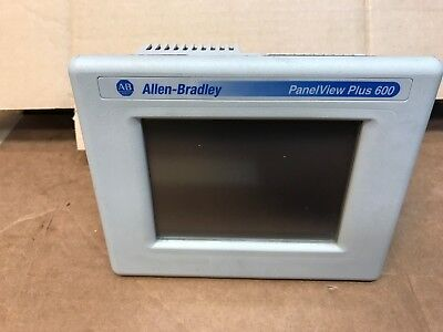 Allen-Bradley Panel View Plus 600 2711P-T6C20D