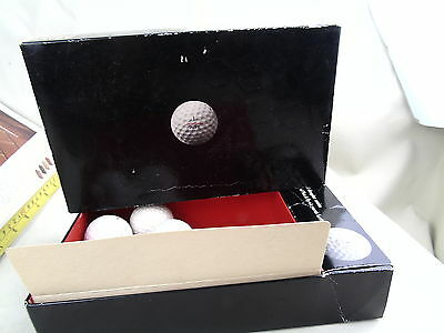 Vintage Uni Royal Uniroyal Plus 6 Boxed Retro Golf Balls