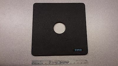 TOYO TOYO-VIEW 4X5 LENS BOARD COPAL #0 hole, excellent condition