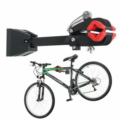 Wall Mount Heavy Duty Bike Bicycle Maintenance Mechanic Repair Folding Clamp NEW
