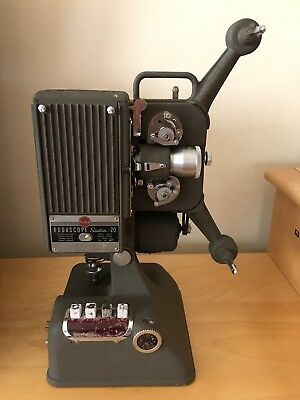 Vintage KodaScope Sixteen-20 Movie Projector With Projecto Case