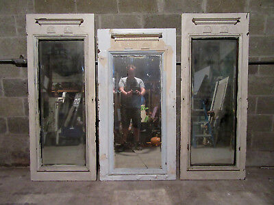 ~ 3 Antique Carved Walnut Pantry Cupboard Doors ~ Architectural Salvage ~
